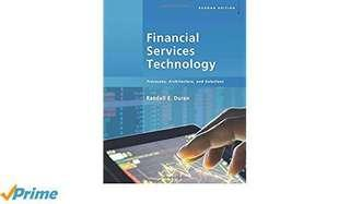 NUS IS4228 Financial Services Technology Textbook