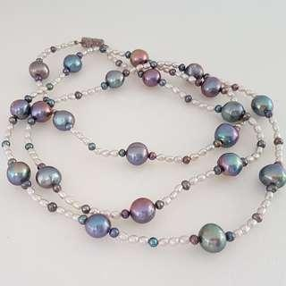 🚚 Luxury Royal Jewellery, Designer Freshwater Pearl Necklaces, Customised Hand-made, Multi-Colours, Avant-grade, for Royalty, for Queen, for Princess, Iconic, for Yuppies, Generation X, Art Décor, For Collector, Original, Authentic