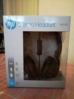 HP Stereo Headset H3100