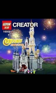 In Stock* Lepin 16008 Disney Castle