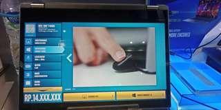 Lenovo yoga core i3 Cash &Kredit proses