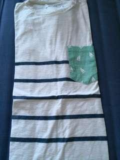 Pull and bear almost new white tshirt