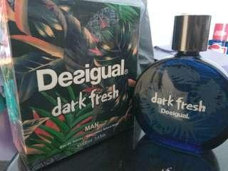 🚚 Desigual dark fresh man eau de toilette vapourisateur natural spray 100ml