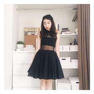 CIEL Black Tulle Dress