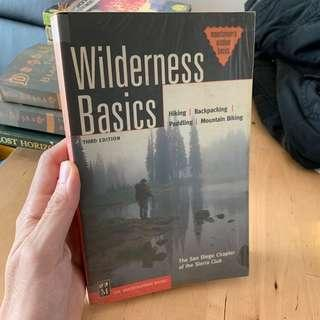 Wilderness basic from Mountaineers basic. Third edition