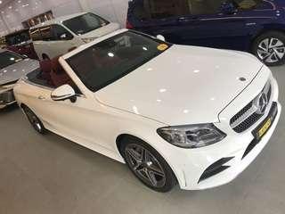 Mercedes-Benz C-Class Cabriolet C200 AMG Line (A)