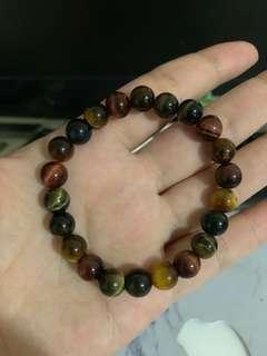 🚚 7mm tiger eye stone bracelet