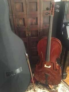 Custom Assembled Cello