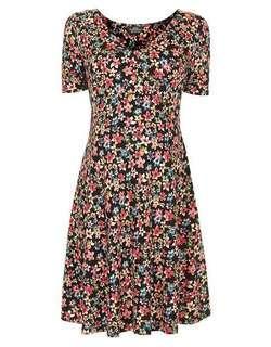 Topshop floral maternity dress - UK10