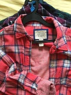 flannels/ forever 21 flannel