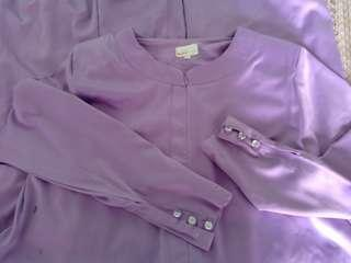 Orchid Scarf dress (Lilac colour)