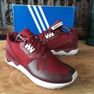 Adidas Originals Tubular Runner White/Burgundy