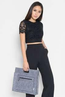 Brand new Lara J Blyss Lace Cropped Top