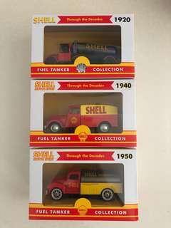 Shell fuel tanker