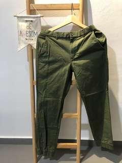 Uniqlo Drawstring Casual Pants