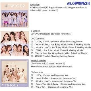 [GO] TWICE 2nd BEST ALBUM #TWICE2