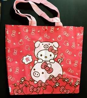 🚚 2019 7-11福袋 kitty 購物袋(贈Kitty 紅包袋)