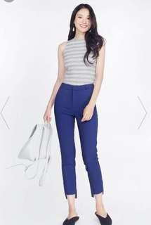 BNWOT Fayth Griffith Asymmetric High-Waist Pants