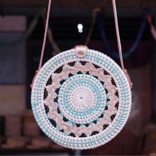 rattan native handmade bags