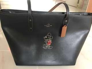 Authentic Mickey Coach Handbag (GUC)