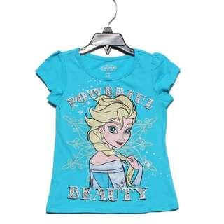 AUTHENTIC FROZEN COTTON TSHIRT TOP FOR 3-5YRS OLD