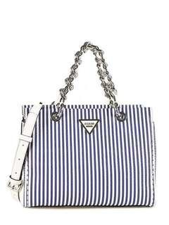 Guess original Bag Striped Blue