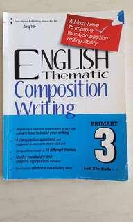 Primary 3 English Thematic Composition Writing (Retail Price $6.90)