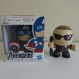Mighty Muggs - Captain America and Hawkeye