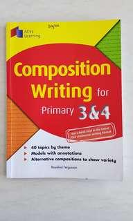 Primary 3 & 4 Composition Writing (Retail Price $7.90)