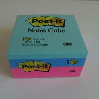 Post-it Notes Memo Cube