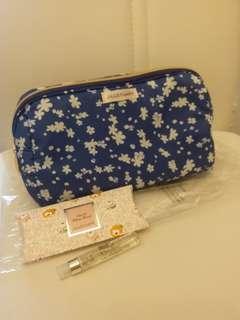 💯🆕️JILL STUART化妝袋+2.5ml White Floral~包郵