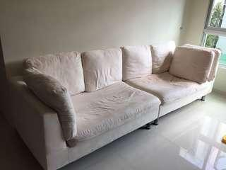 4 seater used sofa