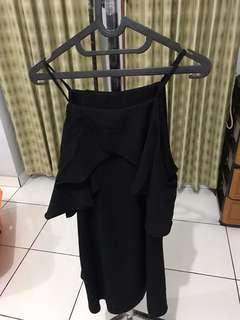 Dress hitam #bersihbersih