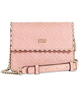 Authentic Guess Rayna Pink Crossbody Bag