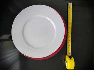 Deshoulieres serving plate 320 mm crescent Moon