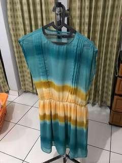 Tie dye dress #bersihbersih