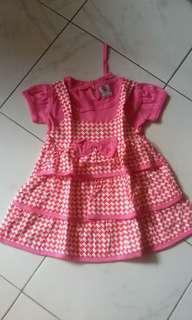 Dress anak rempel