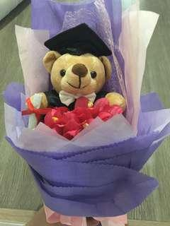 Brand New Graduation Bear Bouquet - Finance / Accountancy