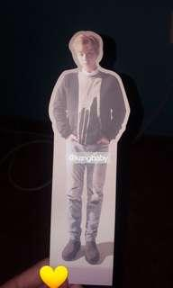 wts jihoon nothing without you standee