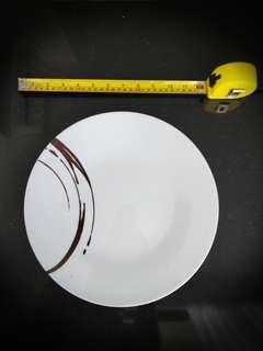 Deshoulieres Assiette 300 extra Plate chocolat
