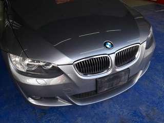 2007年 BMW 330CI(E92) 3.0 總代理 市場稀有 漂亮車 車況佳~~~