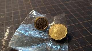 ☺ 麥當勞 McDonald 香港 紀念 襟章 pin