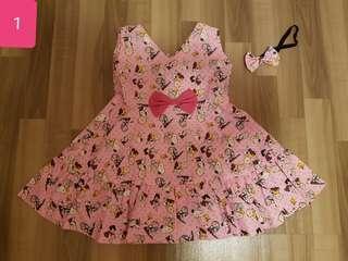 Cartoon Handmade Dress