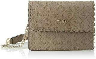 Authentic Guess RAYNA Brown Crossbody Bag
