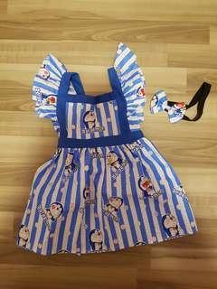 Doraemon Handmade Dress