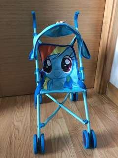 My a little Pony doll stroller