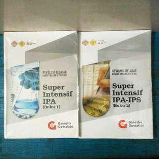 Buku Kumpulan Materi SBMPTN 2019 IPA Saintek Ganesha Operation GO Super Intensif TPA Matematika Fisika Kimia Biologi Bahasa Indonesia Inggris