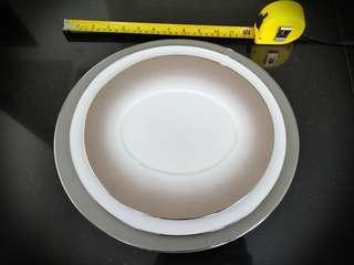 Deshoulieres Set of Forme epure serving plates