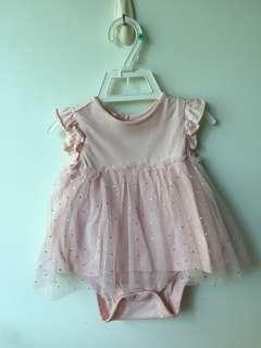 🚚 PL authentic baby GAP baby girl dress (3-6months)
