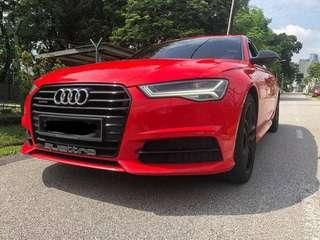 Audi A6 Stage 2 supercharge engine 3L FOR RENT